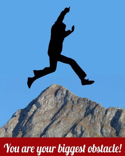 silhouette, man, jump